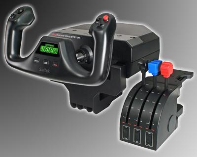 Saitek Pro Flight Yoke System with Throttle Quadrant