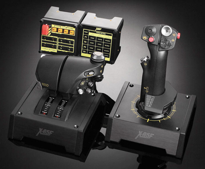 Saitek X65-F Pro Flight Combat Control System