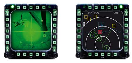 Thrustmaster MFD Cougar Panels