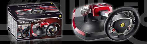 Ferrari Wireless GT Cockpit 430 Scuderia Edition header
