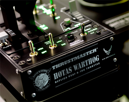 Thrustmaster Warthog Dual Throttle Control Panel